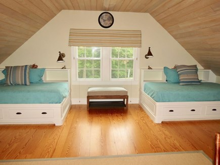 East Orleans Cape Cod vacation rental - CH loft twin beds with storage