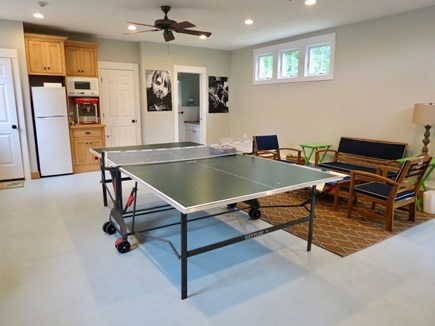 East Orleans Cape Cod vacation rental - Carriage house (CH) , ping pong, kitchenette, popcorn, 1/2 bath