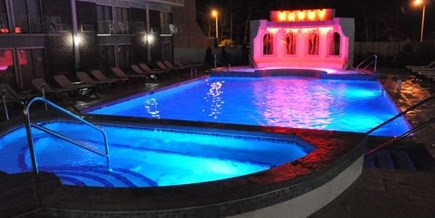 Hyannis Cape Cod vacation rental - Outdoor Heated Pool - Night