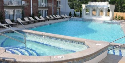 Hyannis Cape Cod vacation rental - Outdoor Heated Pool - Day