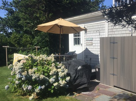 DENNIS Cape Cod vacation rental - Back yard entrance