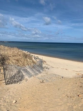 DENNIS Cape Cod vacation rental - Entrance to private beach.