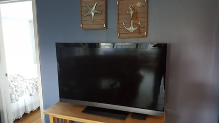 DENNIS Cape Cod vacation rental - Television in living room
