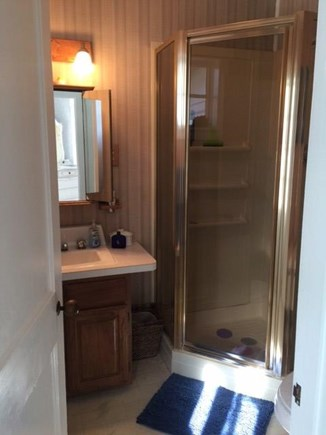 Centerville, West Hyannis Port Centerville vacation rental - Bath off Kitchen with shower.