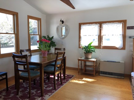 Wellfleet Cape Cod vacation rental - Dining room with desk in the corner