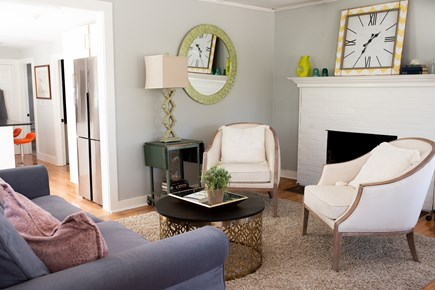 Duxbury MA vacation rental - inviting sitting area with a contemporary vibe
