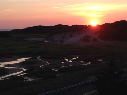 Provincetown Cape Cod vacation rental - Sunset over low tide
