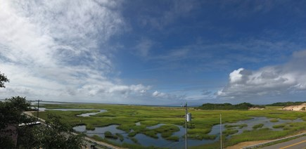 Provincetown Cape Cod vacation rental - Early morning clouds blowing over marsh