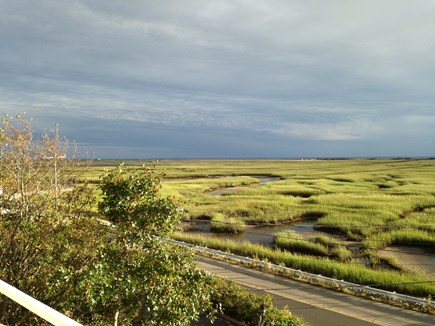 Provincetown Cape Cod vacation rental - Polarized light toward end of stormy afternoon