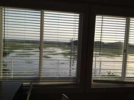 Provincetown Cape Cod vacation rental - Water view fills up the windows of living-room and kitchen