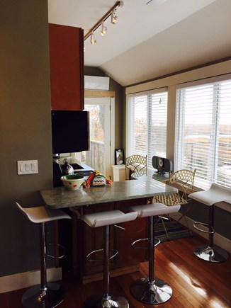 Provincetown Cape Cod vacation rental - Kitchen lunch counter