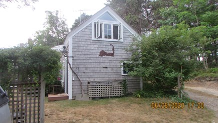 Truro Cape Cod vacation rental - From the parking area