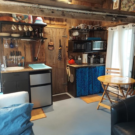 Truro Cape Cod vacation rental - Kitchenette and dining