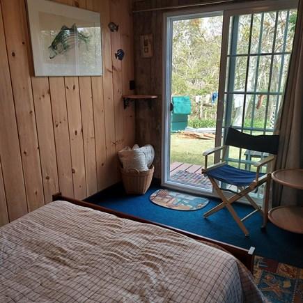 Truro Cape Cod vacation rental - Slider from bedroom