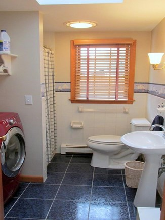 Eastham Cape Cod vacation rental - First Floor Laundry with Bath and Shower
