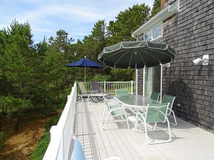 Wellfleet, Indian Neck Cape Cod vacation rental - Amazing long deck - dine and relax - gas grill