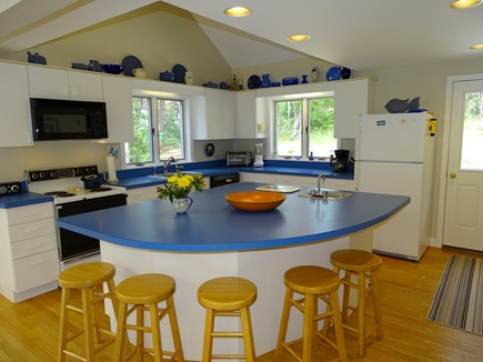 Wellfleet, Indian Neck Cape Cod vacation rental - State-of-the-art large kitchen with breakfast bar