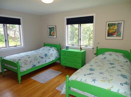 Wellfleet, Indian Neck Cape Cod vacation rental - Twin bedroom on first floor - perfect for children