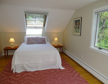 Wellfleet, Indian Neck Cape Cod vacation rental - Spacious queen master bedroom upstairs with seating area