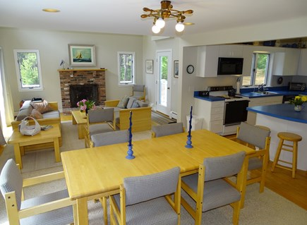 Wellfleet, Indian Neck Cape Cod vacation rental - Open, airy and bright floor plan