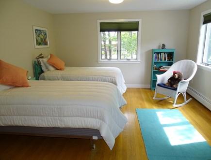 Wellfleet, Indian Neck Cape Cod vacation rental - Large twin bedroom on first floor