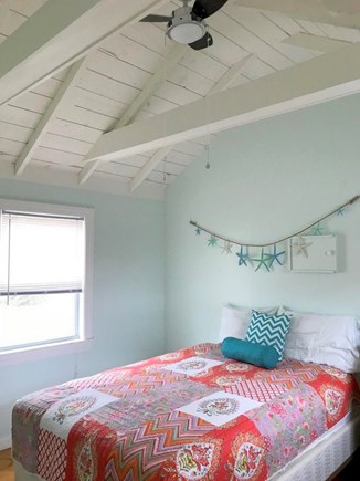 Eastham Cape Cod vacation rental - Master Bedroom - Full Bed - Ceiling Fan