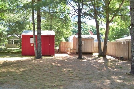 Yarmouth, Cottage is just of of Route 28 Cape Cod vacation rental - Spacious back yard