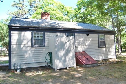 Yarmouth, Cottage is just of of Route 28 Cape Cod vacation rental - Outdoor Shower Enclosure