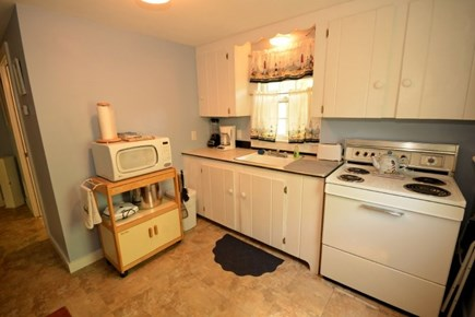 Yarmouth, Cottage is just of of Route 28 Cape Cod vacation rental - Reverse Angle of the kitchen