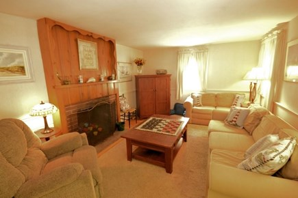 Yarmouth, Cottage is just of of Route 28 Cape Cod vacation rental - Comfortable, Spacious Living Room