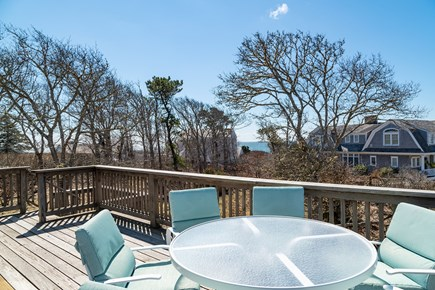 South Chatham Cape Cod vacation rental - View of Nantucket Sound from deck