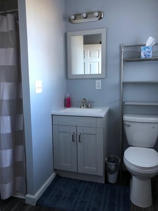 Sandwich Cape Cod vacation rental - Remodeled main floor bathroom with shower.