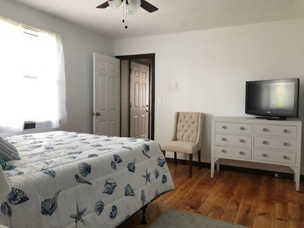 Sandwich Cape Cod vacation rental - Main floor bedroom with all new queen bed.
