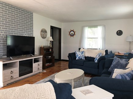 Sandwich Cape Cod vacation rental - Cozy family area to relax . . watch TV, play games, read . . .