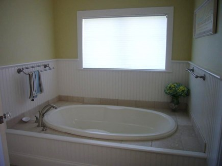 West HyannisPort Cape Cod vacation rental - Master Bath.