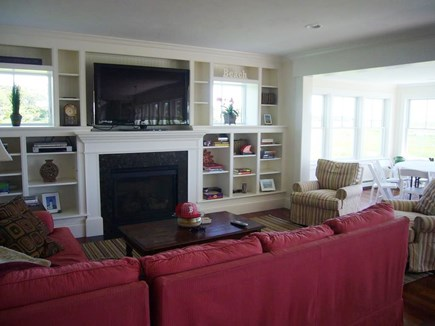 West HyannisPort Cape Cod vacation rental - Living Room