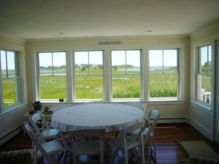 West HyannisPort Cape Cod vacation rental - View off the living room