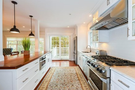 Chatham Cape Cod vacation rental - Chef's kitchen with substantial island to entertain your family.