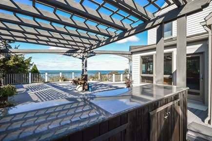 Falmouth Cape Cod vacation rental - Deck with outdoor kitchen