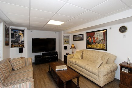 Brewster Cape Cod vacation rental - Lower Level TV Room