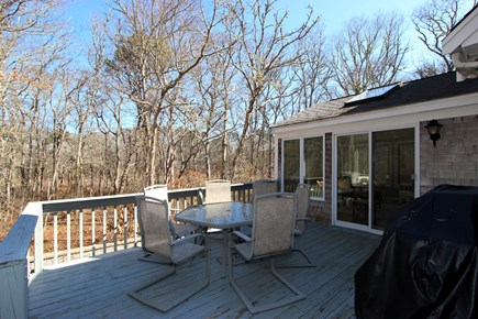 Brewster Cape Cod vacation rental - Deck, New Deck Being Installed for 2019 Season!