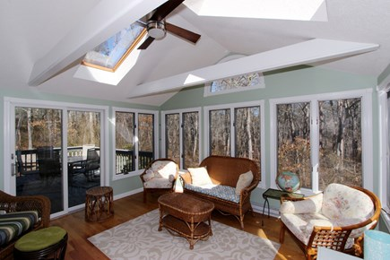 Brewster Cape Cod vacation rental - Sun Room to Deck