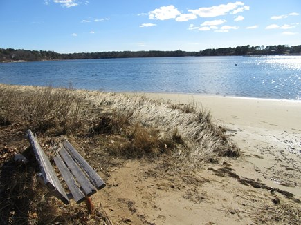 South Dennis Cape Cod vacation rental - Beach area for relaxing & boating