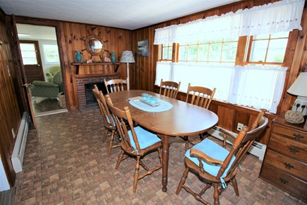 South Dennis Cape Cod vacation rental - Dining off kitchen