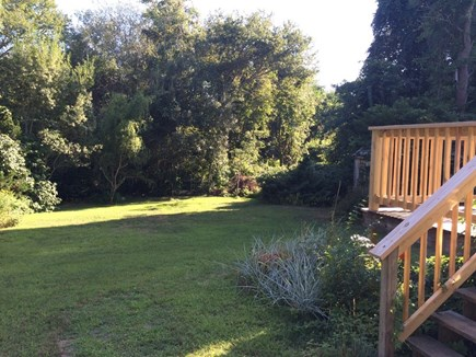 Hyannis Cape Cod vacation rental - Back yard With Deck
