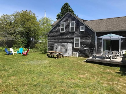 Harwich Cape Cod vacation rental - Large, private back yard