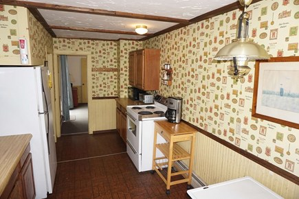 Harwich Cape Cod vacation rental - Kitchen with oven, microwave, toaster, coffee maker