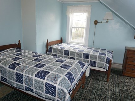 Harwich Cape Cod vacation rental - Bedroom #3 on second floor with two twin beds