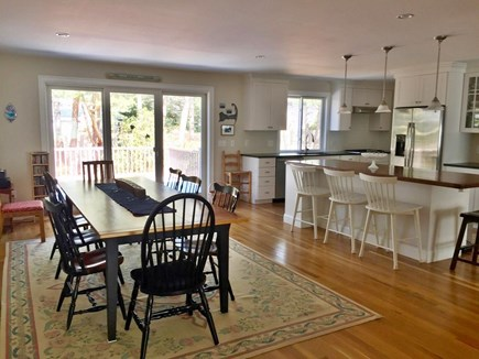 Chatham Cape Cod vacation rental - Dining/Kitchen area as viewed from garage entry