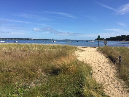 Chatham Cape Cod vacation rental - Jacknife Beach - a 5 minute walk from our house
